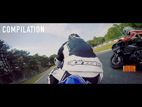 Track Day Fail, Crash, Close calls, Compilation Season 2015 Motorcycle video