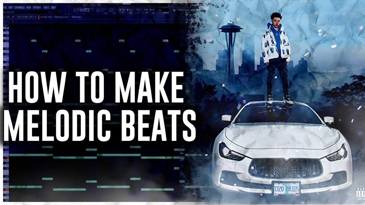How To Make Melodic Beats (Lil Mosey)