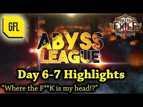 "Path of Exile 3.1: War for the Atlas DAY #6-7 Highlights ""Where the F**K is my head!?"""