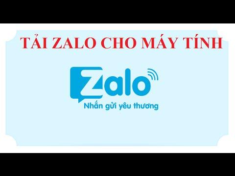 Hướng Dẫn Tải Phần Mềm Zalo Cho Máy Tính (PC) Windowns Mới Nhất