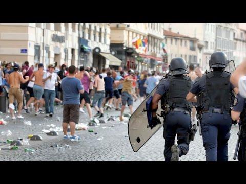 Про агрессию английских фанатов на ЕВРО 2016