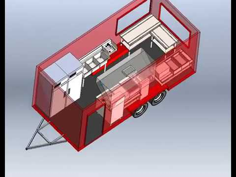 APEX Specialty Vehicles Design & Engineering a Food Truck/Food Trailer