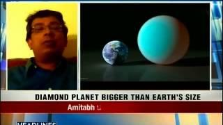 Astronomers discover diamond planet