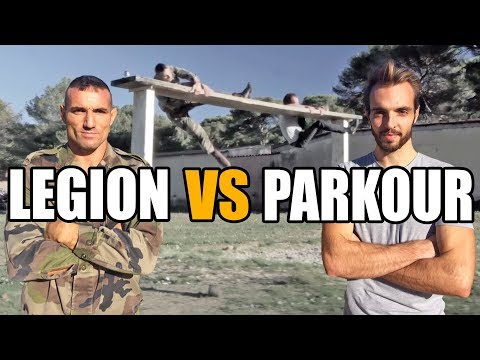 Parcours du combattant : LEGION vs PARKOUR (feat. Major Géra