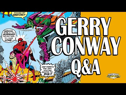 Gerry Conway Q&A @ MCCC 2014   COMIC BOOK SYNDICATE