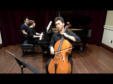Alice Chenyang Xu Shostakovich Cello Sonata in D Minor, Op 40 Mvt.1