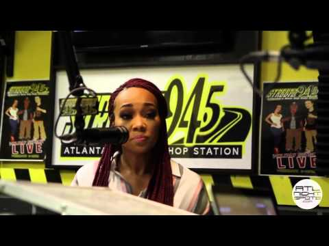 Monica Talks Code Red, Ciara, Acting & More On Streetz 94 5 Jazzy Mcbee Show