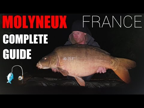 Molyneux Carp Fishing France..The Prettiest Lake You Didnt Know Existed! Full Lake Guide And Review