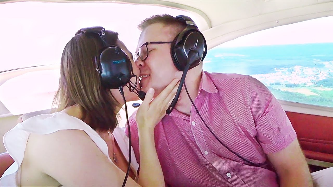 Полет для двоих на самолете
