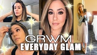 EVERYDAY GLAM   GRWM