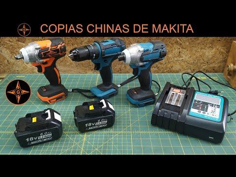 REPLICAS DE MAKITA , TALADROS , BATERIAS Y CARGADOR MUY ECONOMICAS