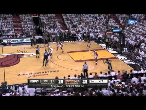 VIDEO: All 25 of the Spurs' first-half field goals in Game 3
