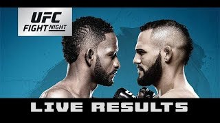 Fight Night Buenos Aires  Ponzinibbio vs Magny Live Fight Commentary
