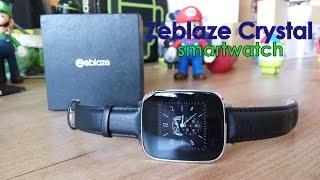 Zeblaze Crystal, unbox y review en español [Smartwatch con Heart Rate + IP65]