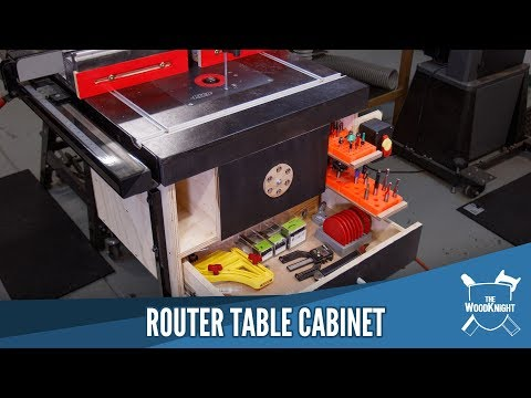 Router Table Cabinet | DIY | Plans