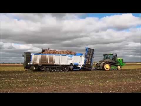 Crop Shuttle used in Red River Valley Sugar Beet Harvest