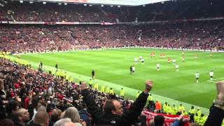 Liverpool fans sing 'we're gonna win the league' at Old Trafford