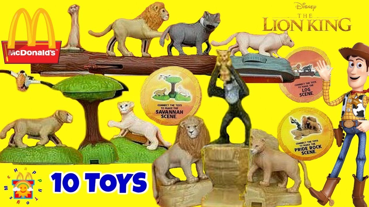 2019 Mcdonalds The Lion King Happy Meal Toys Disney Toy Story 4 Full Set Of 10 Toys Preview