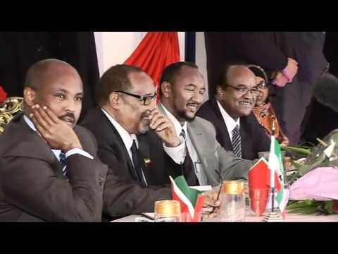 UniversalTV Report: Somaliland President at London Party by UK Somaliland Community 27/11/2010