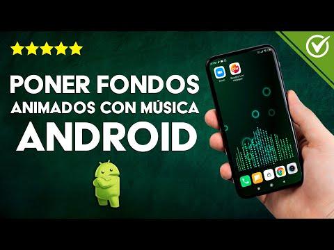 Cómo Colocar Fondos Animados al Ritmo de la Música en Android