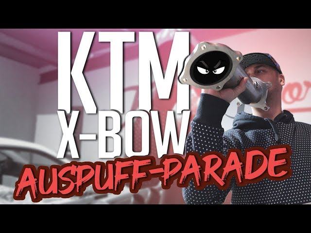 JP Performance - KTM X-Bow   Die Auspuff-Parade!
