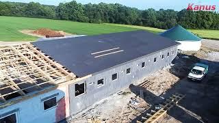 Budowa chlewni dla loch w GR Stachowscy & Siebielec Łany Wielkie