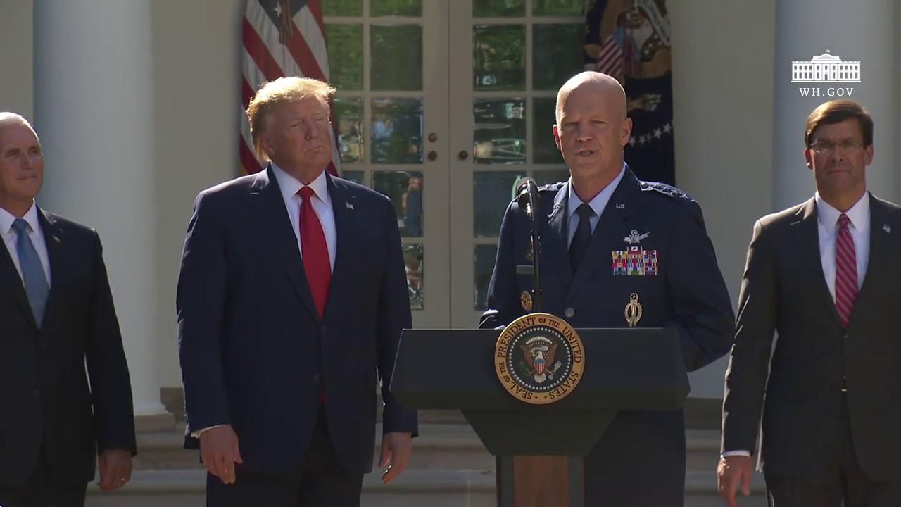 President Trump Participates in the Establishment of the U.S. Space Command