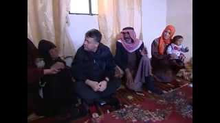 الملك عبدالله الثاني يزور قرى قضاء دير الكهف في المفرق