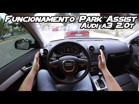 Funcionamento do Sistema Park Assist - (Audi A1 A3 A4 A5)(VW Jetta Golf Passat)