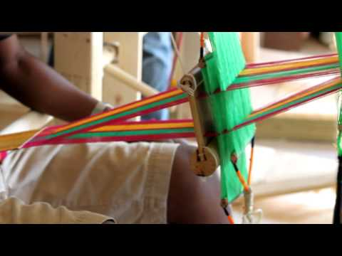 Thompson and Kente Cloth Weaving by: Katrina