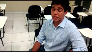 Depoimento de Sucesso! Alamo Andrade Aprovado em 1° Lugar TJ-BA Engenharia Civil