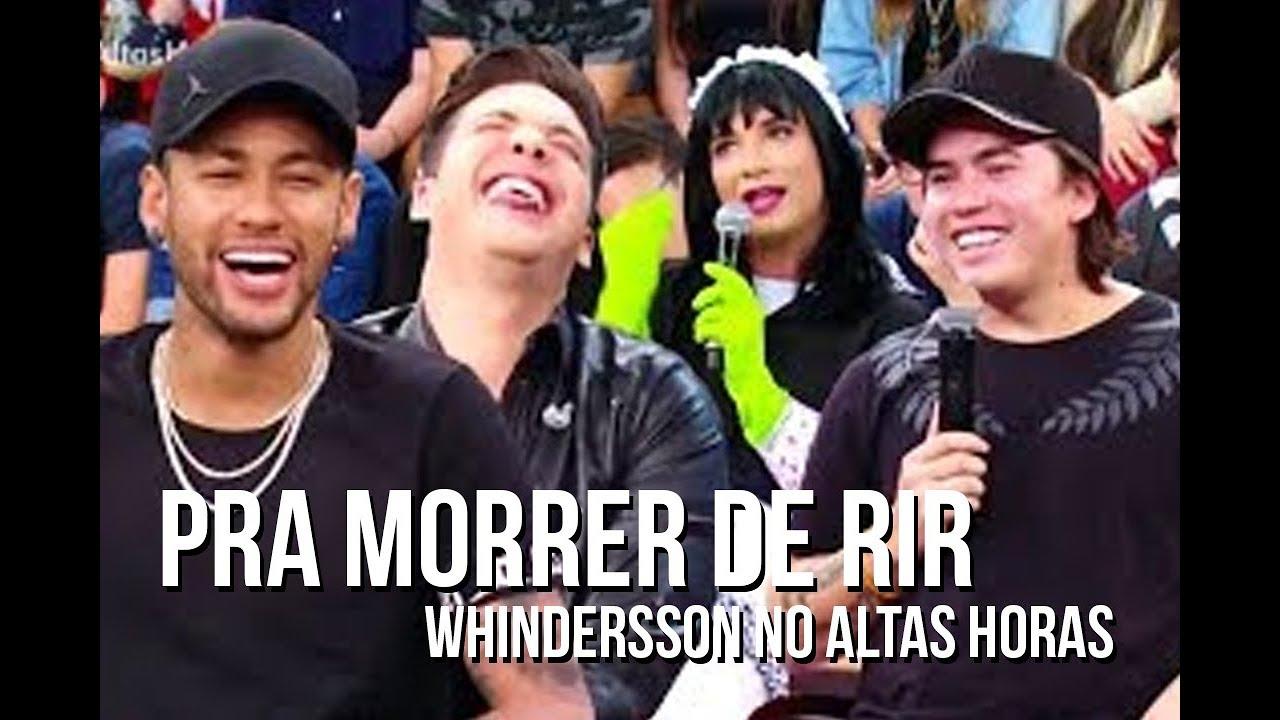 Whindersson Nunes no ALTAS HORAS pra morrer de rir
