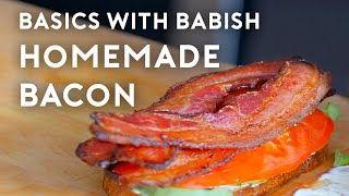 Homemade Bacon | Basics with Babish