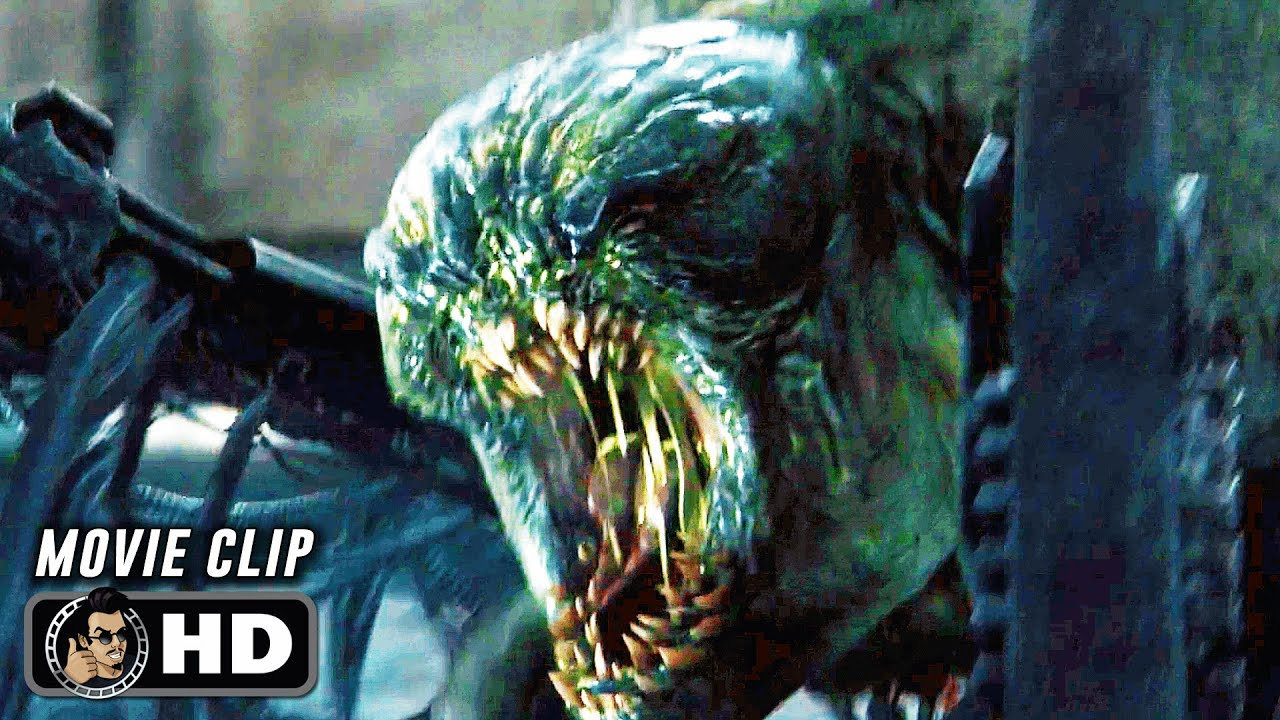 """THE MAZE RUNNER Clip - """"The Group Fight Off Grievers"""" (2014)"""