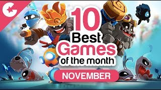Top 10 Best Android/iOS Games - Free Games 2018 (November)