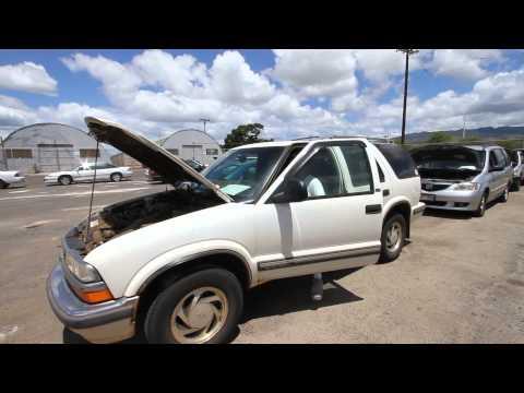 Pacific Auto Auction - Chevy Blazer 1998