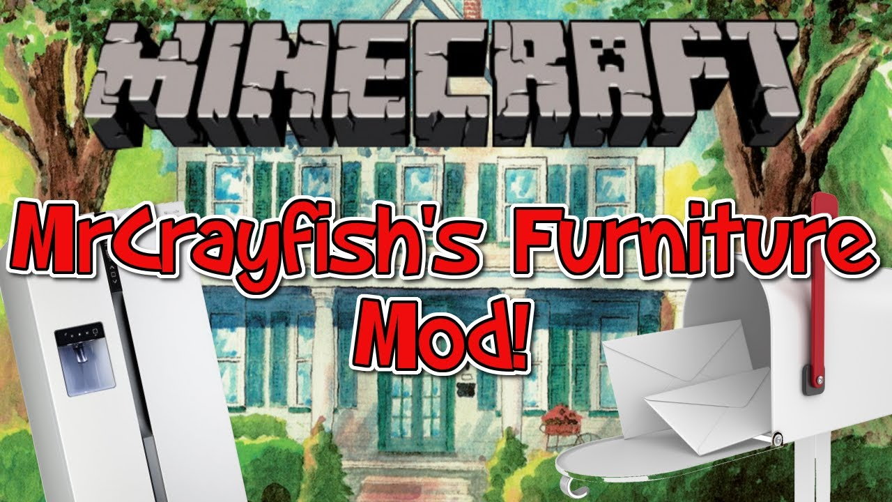 Minecraft 1 7 2 Mod Mrcrayfish 39 S Furniture Mod Mailboxes Hedges Cooked Flesh And More