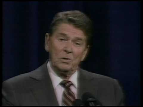 Second Presidential Debate with President Reagan and Walter Mondale, October 21, 1984
