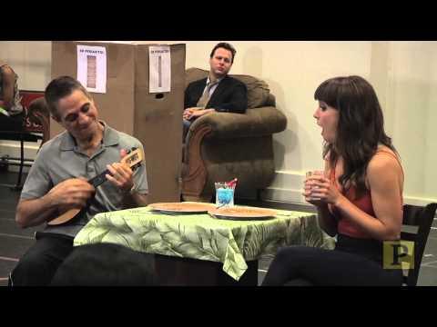 Rob McClure, Tony Danza and Brynn O