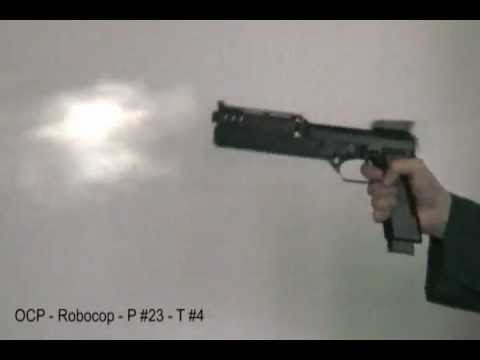 Robocop gun (Auto 9) test
