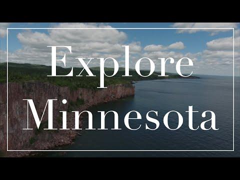 Minnesota drone footage