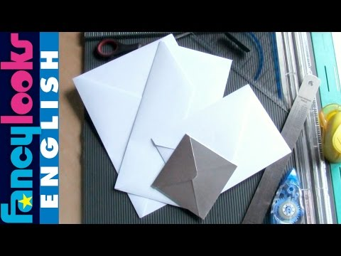 Make any size envelope using just one measurement