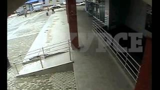 Ограбление инкассаторов в Кристалле. Новое видео с камер наблюдения
