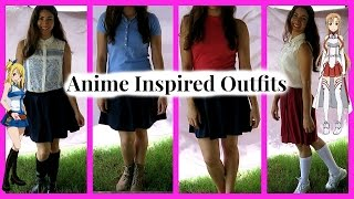 Anime Inspired Outfits