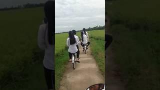 girl in khmer krom