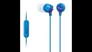 Sony EX15AP earphone unboxing and review!!!