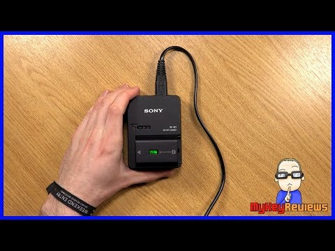 Sony BC-QZ1 External Battery Charger for NP-FZ100 | Unboxing & Review | MyKeyReviews