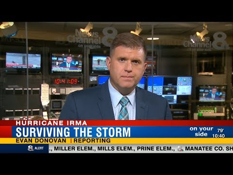 Evan Donovan - WFLA Hurricane Irma Coverage