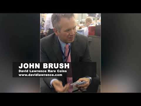John Brush Shows Coins From The D.L. Hansen Collection | ANA Philly 2018 Interviews