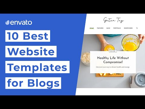 10 Best Website Templates For Blogs [2020]